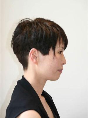 パリマダム風ショートヘアのサムネイル