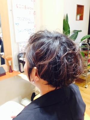 ショートだって!アレンジ☆福岡女性専用理美容室☆チーフのBlogのサムネイル