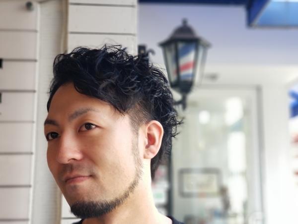 メンズ2ブロックパーマ☆ 福岡市南区高宮の理美容室YAMAGUCHI toushel